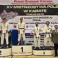 3 zawodników KIME, 2 medale_2